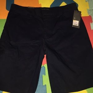 Mens New with tags navy Mossimo cargo shorts